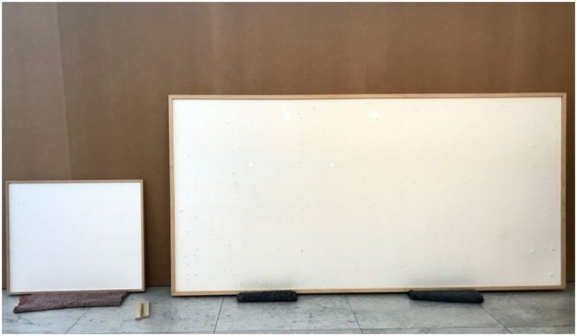 """Un muzeu i-a oferit unui artist 84.000 de dolari să creeze un tablou. A păstrat banii și a livrat o ramă goală pe care a numit-o """"artă"""""""