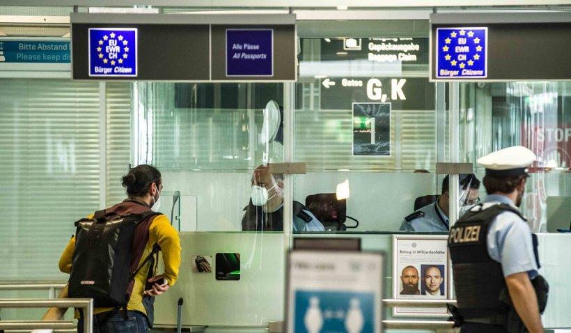 Aeroportul din Munchen, evacuat după ce un bărbat a fost prins cu un proiectil de mortieră în rucsac