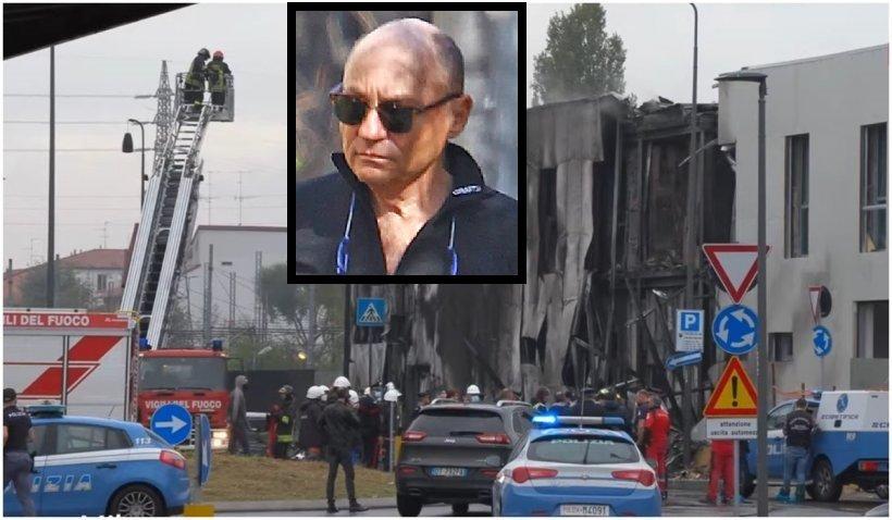 Omul de afaceri Dan Petrescu, pilotul avionului prăbuşit la Milano. MAE confirmă că printre morţi sunt doi români