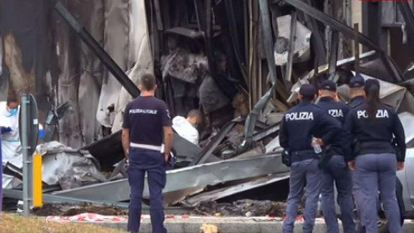 Coincidență sinistră în cazul avionului prăbușit la Milano, în care omul de afaceri Dan Petrescu și familia lui și-au pierdut viața