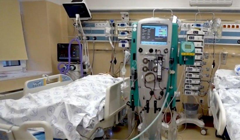 """Sistemul de sănătate este în colaps. Imagini exclusive din secția ATI de la Spitalul """"Matei Balș"""""""