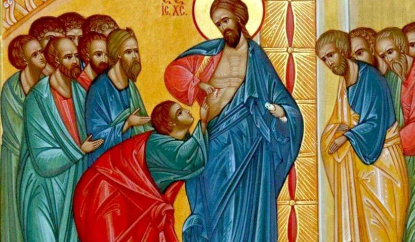 Calendar ortodox 6 octombrie 2021. De ce este considerat un întârziat Apostolul Toma, omul care nu a crezut până nu a văzut