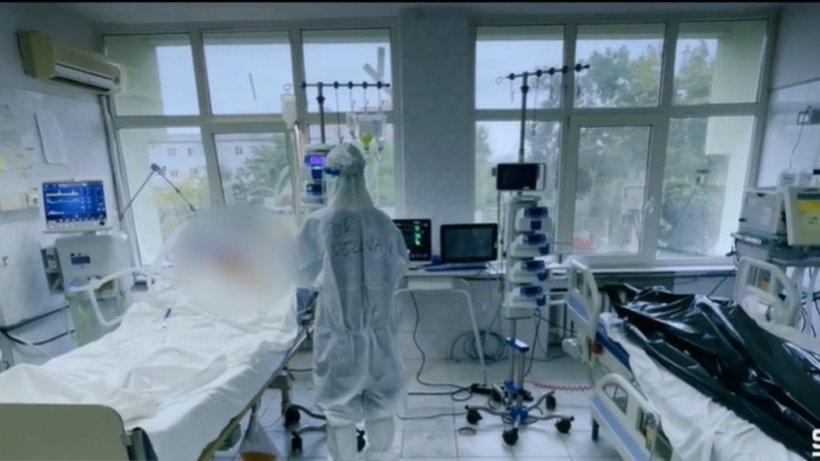 """Imagini greu de privit din secția ATI COVID din Timișoara. Mihai Gâdea: """"Nu vă arată nimeni! Așa arată lucrurile în spitalele din România!"""""""