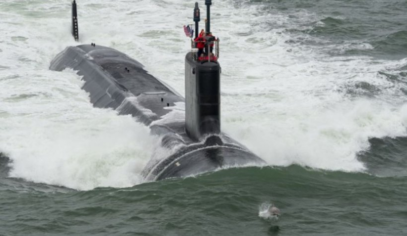 Reacția Chinei, după ce un submarin nuclear american a lovit un obiect necunoscut într-o zonă maritimă revendicată de Beijing