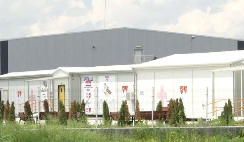 Spitalul modular COVID-19 de la Lețcani, cel mai mare din țară, se redeschide marți, după 8 luni de pauză