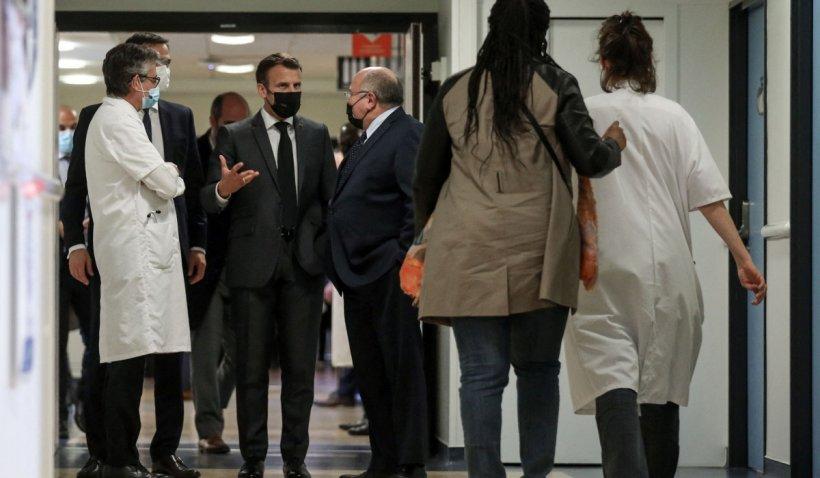 Tânăr arestat în Franța, după ce a prezentat, la intrarea în spital, certificatul verde al preşedintelui Emmanuel Macron