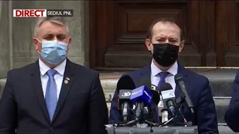 """Florin Cîțu, primele declarații după consultările de la Cotroceni: """"Nu vă dezvăluim strategiile noastre!"""""""