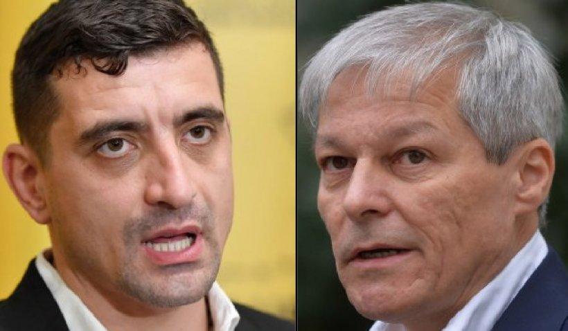 """George Simion, despre propunerea lui Cioloş ca premier: """"Categoric este o glumă foarte proastă ca noi să-l votăm"""""""