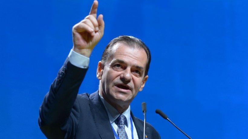 """Ludovic Orban: """"Să se înțeleagă un lucru. Florin Cîțu nu poate fi prim-ministru!"""""""