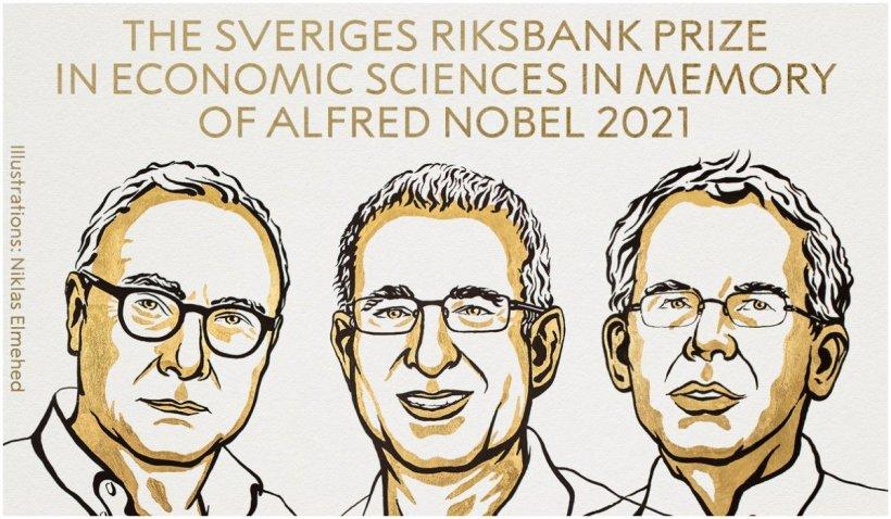 """Premiul Nobel pentru Economie a fost câștigat de trei cercetători, pentru """"contribuțiile empirice la economia muncii"""""""