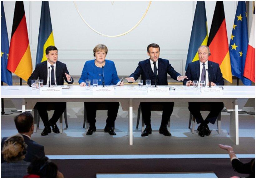 Franța, Germania, Ucraina, Rusia, întâlnire la nivel ministerial cu privire la încheierea conflictului ucrainean