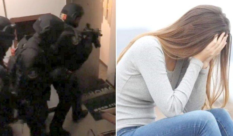 Tânără salvată de poliţişti, după ce a fost răpită dintr-o staţie de autobuz şi dusă într-o casă, în Urlaţi