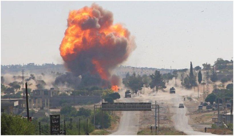 Atac aerian israelian asupra provinciei siriene Homs. Au fost raportați patru morți și șapte răniți