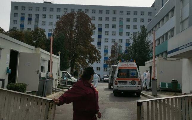 Tragedie la un spitalul din Galaţi: Un pacient a murit după ce s-a aruncat de la etajul 8