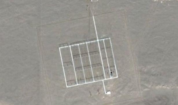 Ce ascunde China? Misterul continuă: Noi structuri bizare, în mijlocul deşertului  Ce-ascunde-china-misterul-continua-noi-structuri-bizare-in-mijlocul-desertului-116354