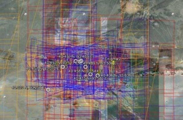 Ce ascunde China? Misterul continuă: Noi structuri bizare, în mijlocul deşertului  Ce-ascunde-china-misterul-continua-noi-structuri-bizare-in-mijlocul-desertului-116356