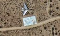 Imagini surprinse din satelit, în deşertul Mojave. Nimeni nu ştia ce sunt aceste forme ciudate. Vezi explicaţia oferită de americani 196749
