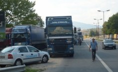 Restrictions for truck transport at the Romanian-Bulgarian border over heat