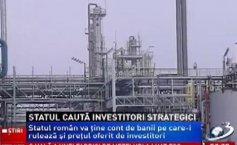 "The Romanian government launched the ""hunt"" for investors in  three national companies of  key sectors for the economy"