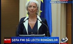 Head of the IMF impressed by Bucharest: It reminded me of my hometown Paris