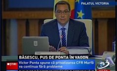 The Government Decision on the privatization of  CFR Marfă, published in the Official Journal