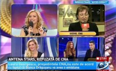 Antena Stars, refused by the CNA. Laura Georgescu does not approve that Bianca Drăguşanu should have her own show