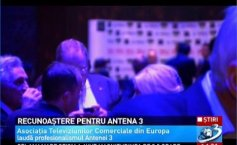 Association of Commercial Televisions in Europe praises Antenna 3 for its professionalism