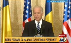 Joe Biden, the speech at the end of his visit to Romania: I might be addressing the future president