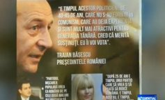 Traian Băsescu appears on the electoral posters of the PMP