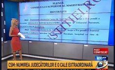 The 100 minutes show. Documents indicating that the INA privatization case file was directed towards certain judges