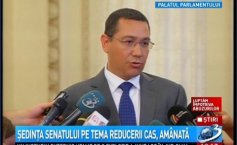 Ponta: Tăriceanu is the only representative of the right in the presidential campaign