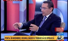 Victor Ponta, about the people of Băsescu's regime: They have all pretended to be  Mandela, being actually  Monica Macovei