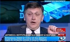 Antonescu: The state should provide clarifications about the irregularities in the Telepathy case file