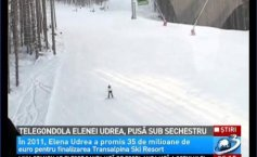Mrs. Udrea has destroyed the Vidra-Voineasa ski resort project leaving it unfinished and without funds