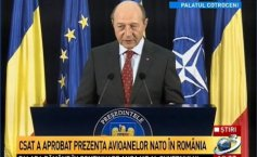 NATO aircrafts in Romania.  Băsescu: CSAT has approved the aircrafts presence on our territory