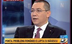 Victor Ponta, on the Daily Summary show: Romania's problem is the fight against those who want to harm it. This entire system should disappear