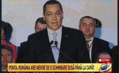 "Victor Ponta has been officially designated the party's candidate in the presidential elections. ""I will fight to keep the Romanians united"""