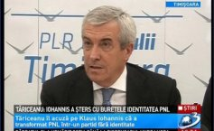 Tăriceanu: Iohannis has wiped out the PNL identity