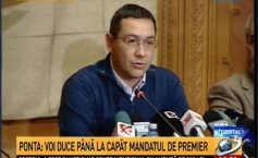 Ponta's reaction, after the official results: I am staying in government I can have a dialogue with Iohannis. In the PSD, we must have the decency to shut up