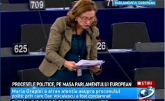 Political trials, discussed in the European Parliament. Grapini: Voiculescu's conviction, an attack against the freedom of the press