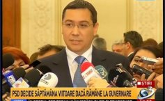 Ponta: I regret the fact that not all Romanians abroad were able to vote, I have paid the political price