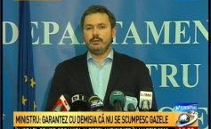 The Energy Minister: The  gas price for the population will not increase. I guarantee with my resignation