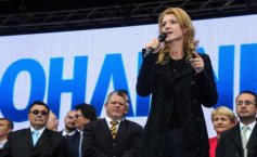 Klaus Iohannis announced his support for Alina Gorghiu at the PNL's presidency