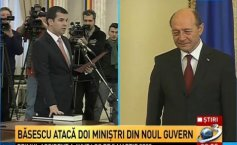 The new Ponta cabinet was sworn in. President Traian Băsescu attacked two ministers