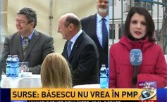 Traian Băsescu separates from  Udrea. The reason  the People's Movement Party (PMP) will disappear from the political scene