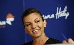 Simona Halep, designated athlete of the year 2014 by COSR