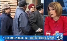 Rovana Plumb: The largest pension in Romania amounts to 28.852 lei