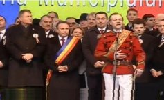 President Iohannis, PM Ponta, Chisinau and Cernauti City Mayors attend Union Day ceremonies in Iasi