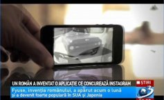 A Romanian invented an application competing the Instagram