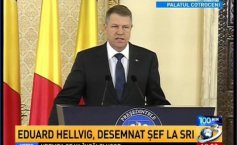 Eduard Hellvig, the president's proposal for the SRI. Klaus Iohannis: He is recommended by his training, energy and calm